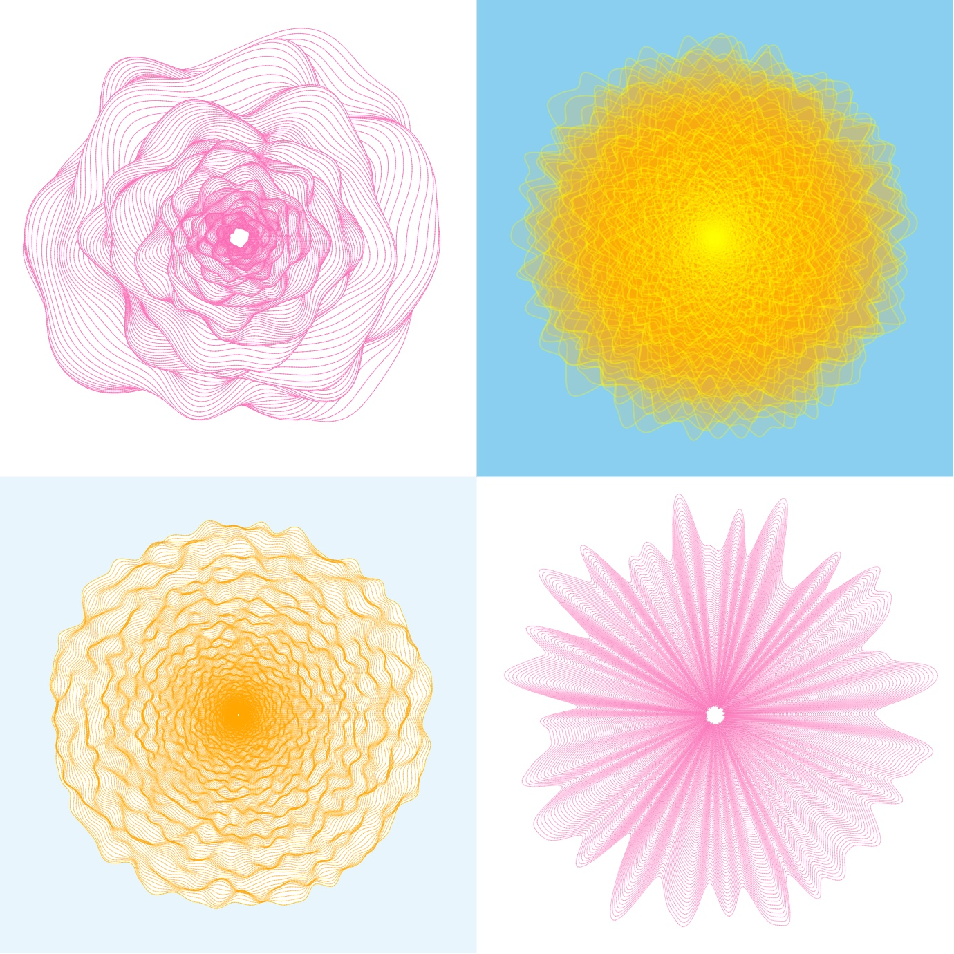 Generating Flowers Using Simplex Noise
