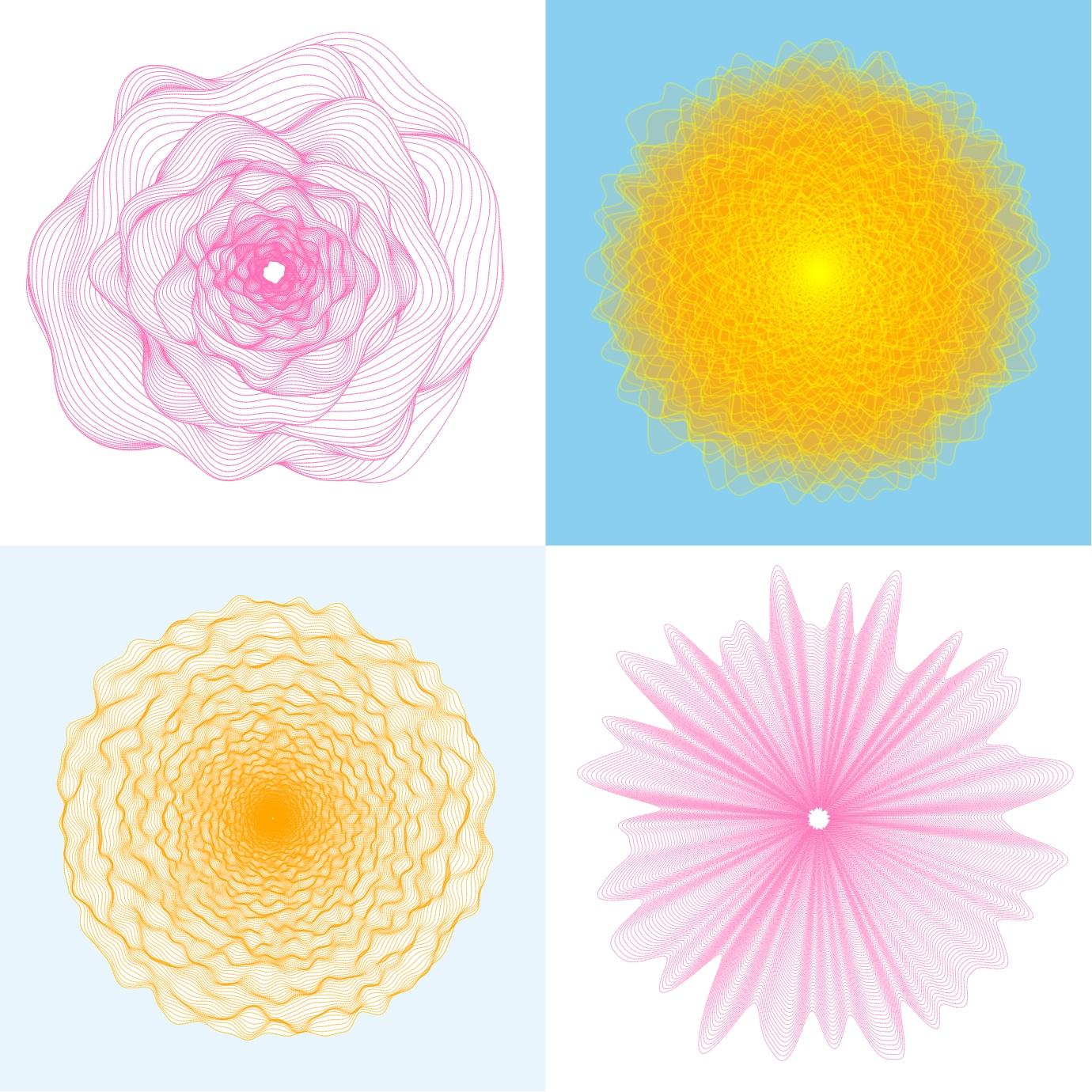 Generating Flowers Using Simplex Noise